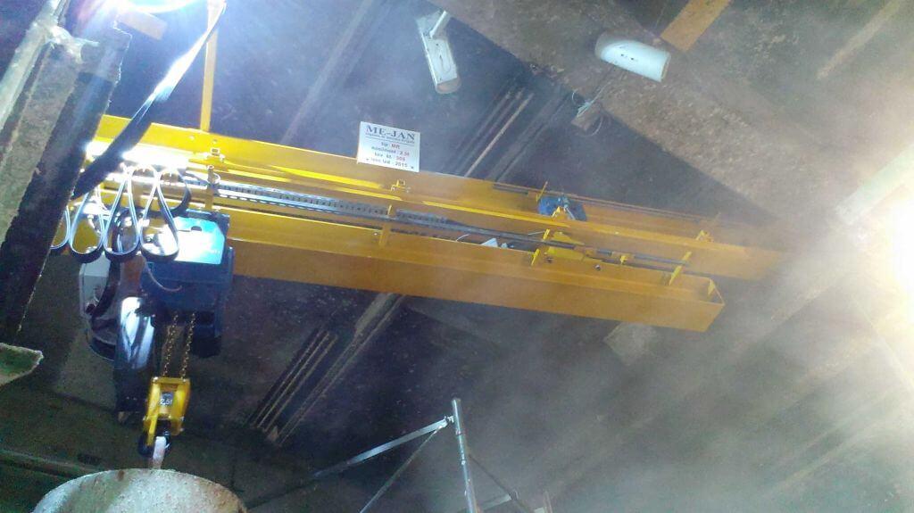 Enotirna (Monorail) dvigala