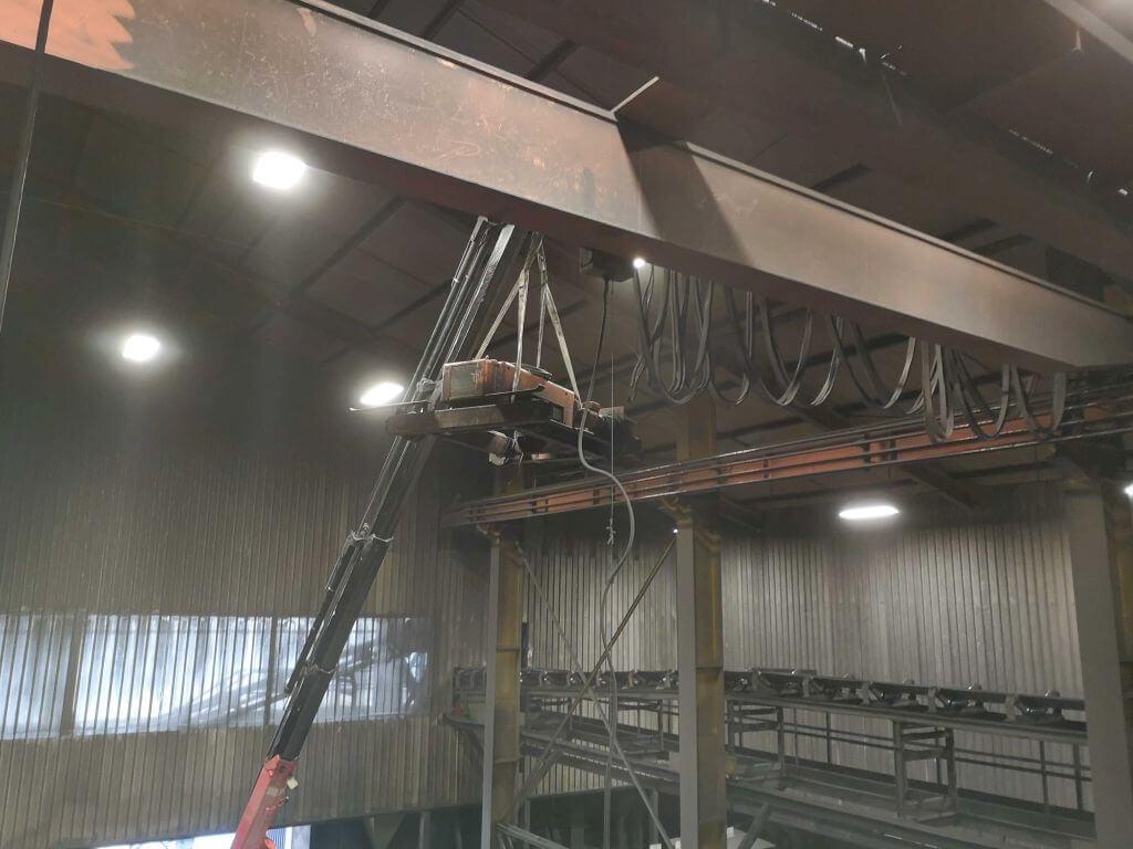 Rekonstrukcije mostnih dvigal